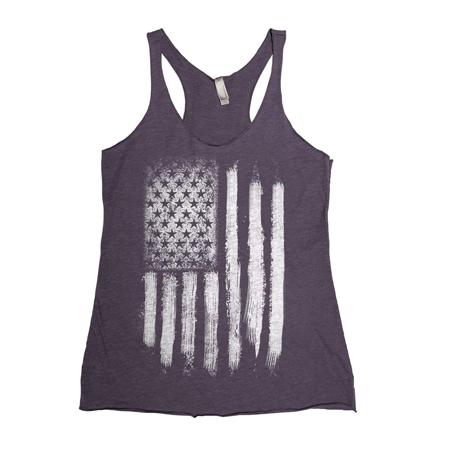 Couthclothing Women's American Flag Racerback Tank Top