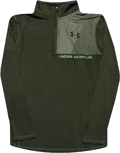 Ni/ños Under Armour Raid 1//4 Zip Camisa De Manga Larga
