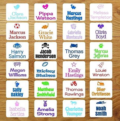 Etiquetas adhesivas para ropa, elije diseño, personalizadas para ...
