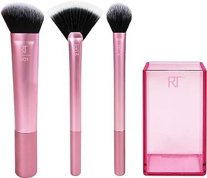 REAL TECHNIQUES Sculpting set - Kit de brochas de maquillaje, el empaque puede variar: Amazon.es: Belleza