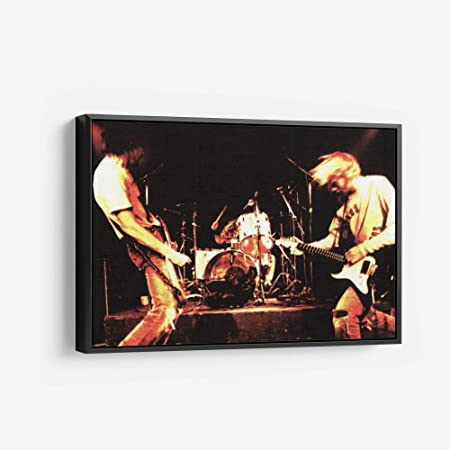 Nirvana vintage rock 66 Poster Canvas Picture Art Print Premium Quality