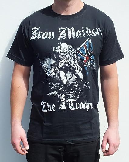 RGM852 Iron Maiden The Trooper - Camiseta (talla mediana), diseño de Iron Maiden