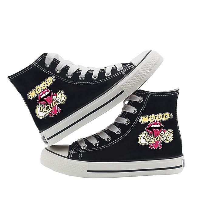 Amazon.com: Cardi Shoes Graffiti - Lienzo de doble capa para ...