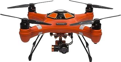 amazon com swellpro waterproof splash drone 3 auto with 4k hd