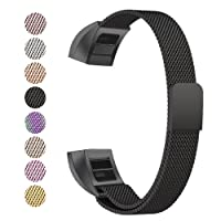 BeneStellar Fitbit Alta Strap, Milanese Stainless Steel Adjustable Replacement Accessory Straps for Fitbit Alta HR and Fitbit Alta