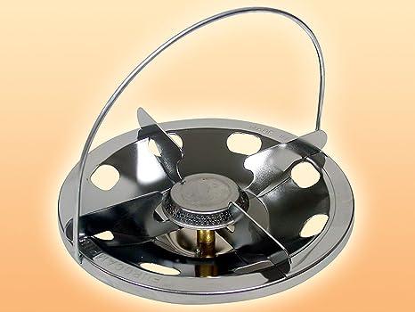 Hornillo de camping - Quemador maxi de 83 mm para atornillar ...