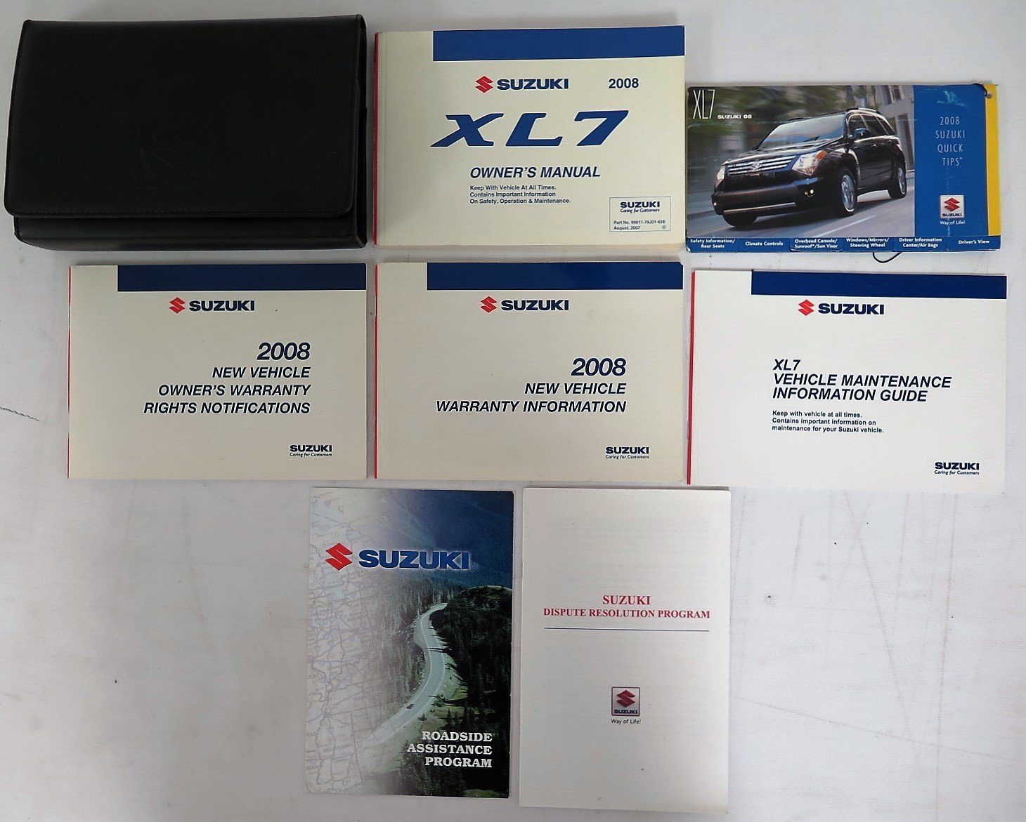 2008 suzuki xl7 owners manual with case book set suzuki amazon 2008 suzuki xl7 owners manual with case book set suzuki amazon books publicscrutiny Image collections