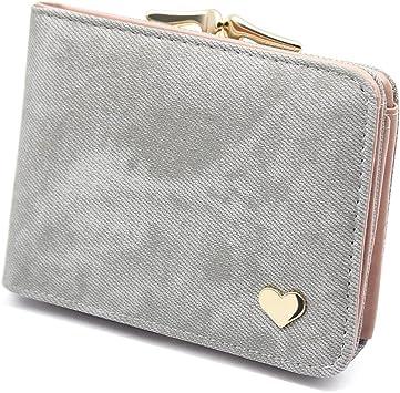 Geldbörse Damen Geldbeutel Brieftasche Portemonnaie Großes Portmonee Wallet DE