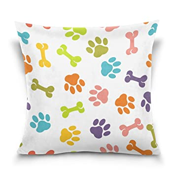 Amazon Trolltech Creative Custom Dog Paw Silk Pillow Case King Impressive King Size Pillow Case Covers