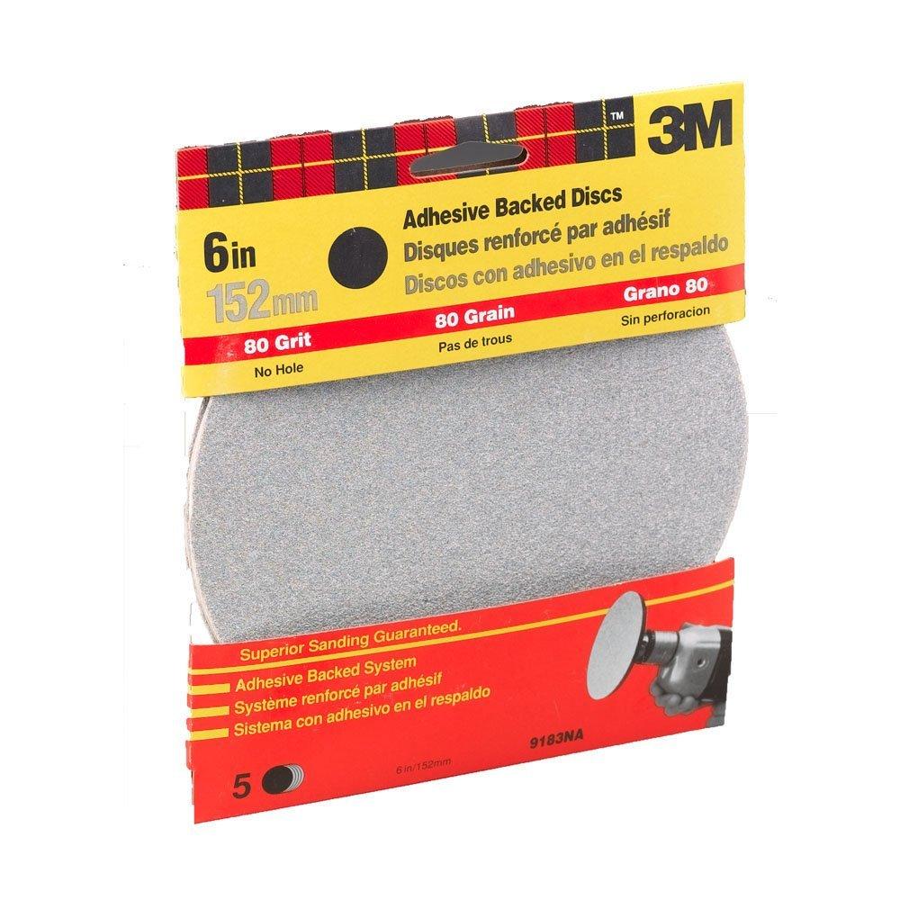 3M 9183DC-NA 6 Medium Adhesive Backed Discs 3m Co.