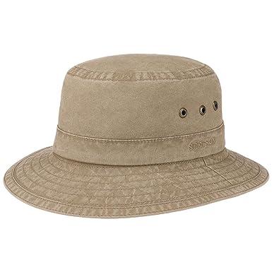 Stetson Reston Cappello da Pescatore vacanza estivo  Amazon.it   Abbigliamento 838bd084d8a4