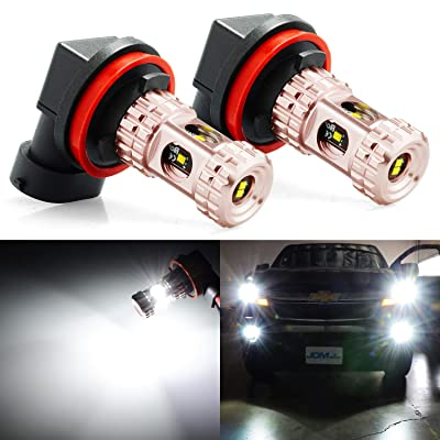 JDM ASTAR Bright White 1020 High Power H11 H8 H16 LED Fog Light Bulbs: Automotive