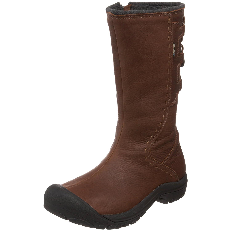 7ac9410859f Amazon.com | KEEN Women's Winthrop Waterproof Winter Boot, Pinecone, 9 M US  | Mid-Calf