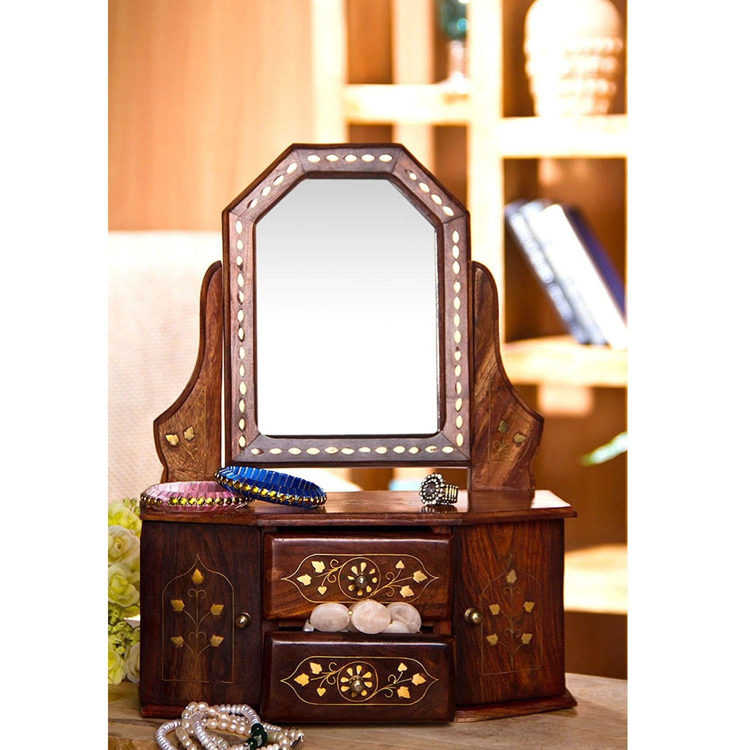 Uncategorized Buy Dressing Table With Mirror dressing table buy tables online at best prices in india desi karigar wooden small mirror frame home decorative and gifting item toy dressing