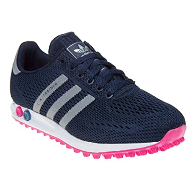 adidas L.A. Trainer Femme Baskets Mode Bleu: Amazon.fr ...