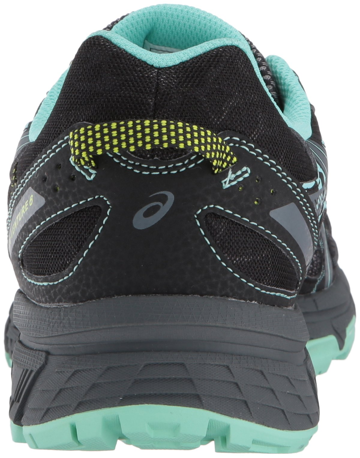 ASICS Women's Gel-Venture 6 Running-Shoes,Black/Carbon/Neon Lime,5 Medium US by ASICS (Image #2)