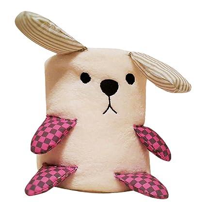 Morado Conejo manta para bebé de Navidad, oso, colcha y ...