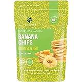 Dried Banana Chips Unsweetened Bulk, 1 lb. Dried Bananas, Unsweetened Banana Chips, Dehydrated Bananas, Unsweetened Dried Ban