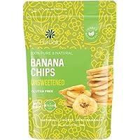 Dried Banana Chips Unsweetened Bulk, 1 lb. Dried Bananas, Unsweetened Banana Chips, Dehydrated Bananas, Unsweetened…