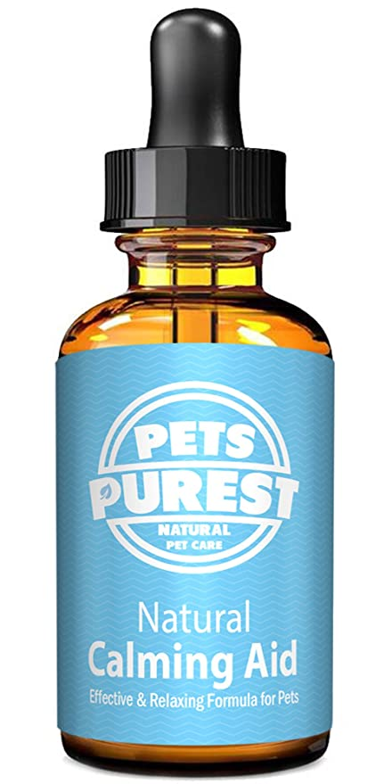 Pets Purest Suplemento 100% Natural Calming Aid para perros, gatos y mascotas. Reduce