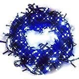 iimono117 イルミネーション 10.5m LED 300球 / 屋外[ 防水 防滴型 同種類 約72m まで 連結可能 ] クリスマス イベント デコレーション 製品保証付き (ブルー)