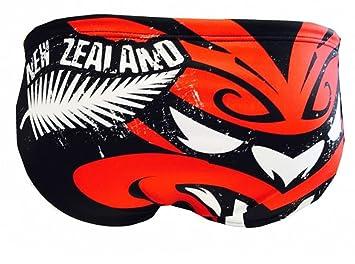 Turbo Bañador Trail Mask Hombre para Pelotas de Agua Natación Triatlón, Negro/Rojo/Blanco: Amazon.es: Deportes y aire libre