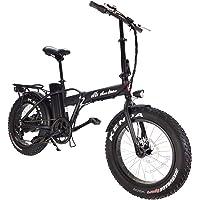 """DAS.BIKE Ebike Elektro Fat Bike 20"""" Ebike Pedelec 7-Gang Shimanoschaltung mit Breiten Reifen"""