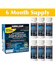KIRKLAND MINOXIDIL SOLUTION 5% - SIX MONTHS SUPPLY - EXPIRY 2020