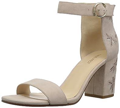 online retailer latest fashion another chance Amazon.com | Nine West Women's GANGELA Suede Heeled Sandal ...