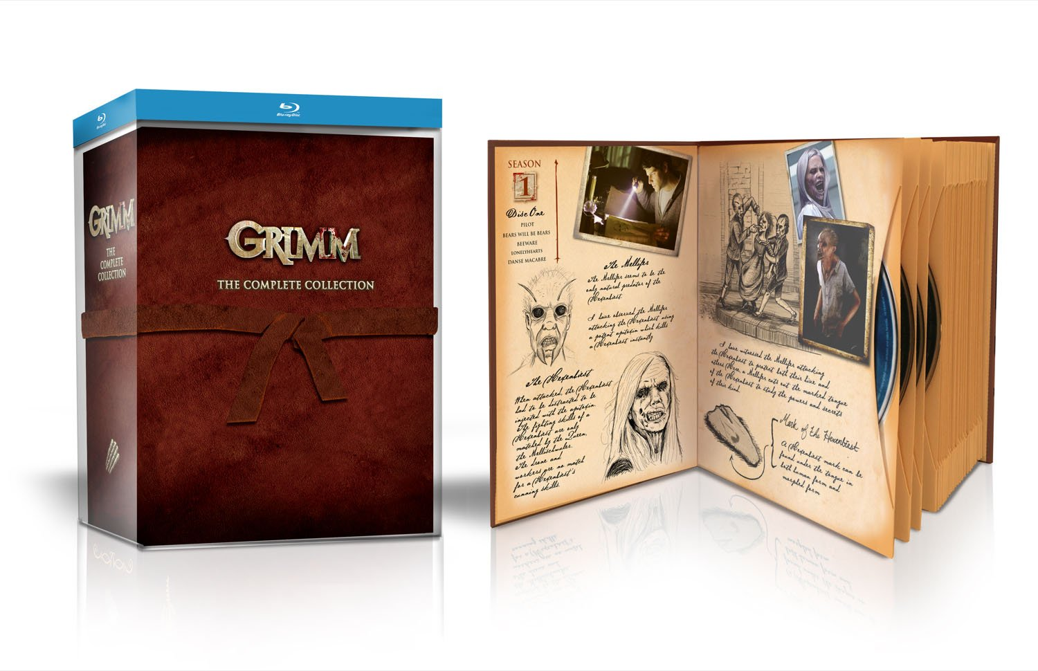 Grimm: The Complete Collection [Blu-ray] by Universal Pictures Home Entertainment