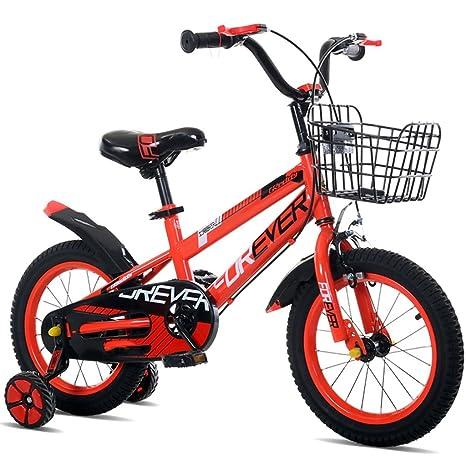 Bicicletas para niños con Estilo niños y niñas Bicicletas para niños niños de 3/6/8 años de Edad Ciclismo Bicicletas de Tres Ruedas ...