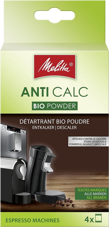 Poudre Melitta D/étartrant Cafeti/ère Automatique ou /à Dosettes