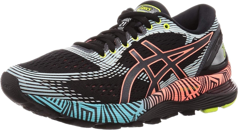 ASICS Gel-Nimbus 21 LS, Zapatillas de Running para Mujer: Amazon.es: Zapatos y complementos