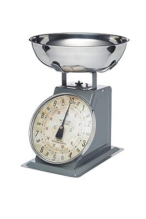 Kitchencraft Industrial Cocina Alta Capacidad Heavy-Duty mecánica báscula de Cocina, 10 kg (22 Libras): Amazon.es