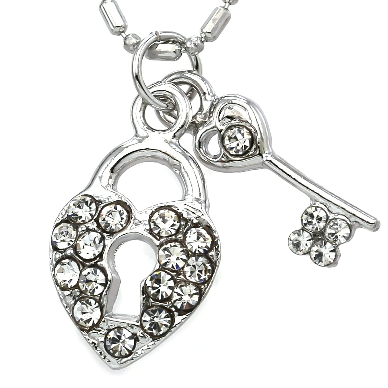 key il charms p fullxfull flat and with silver heart anklet bracelet sterling chain
