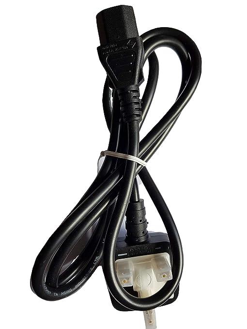 GINDAIRA - Cable de alimentación de 3 pines para IEC C13, color ...