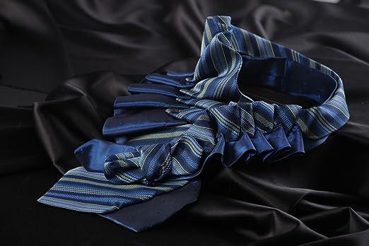 Collar original hecho a mano de corbatas masculinas de raso y seda ...