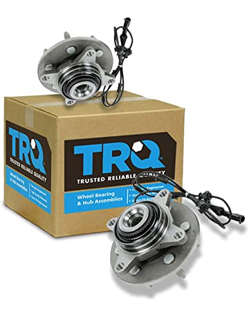 TRQ Front Wheel Hub & Bearing Assembly Pair Set for Expedition Navigator 4WD
