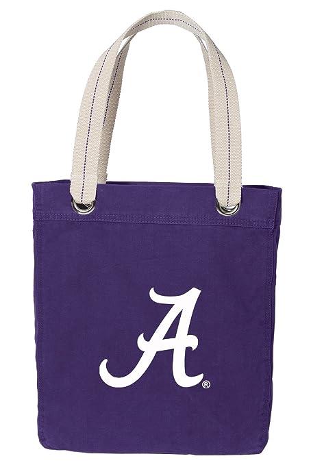 Amazon.com: Universidad de Alabama bolsa Bag Rich Dye Washed ...