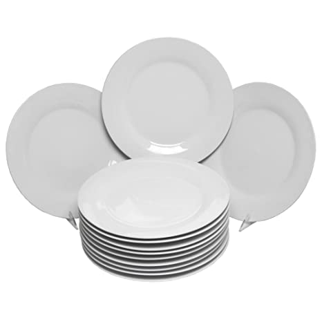 10 Strawberry Street Catering Set 10-1/2-Inch Dinner Plate Set  sc 1 st  Amazon.com & Amazon.com | 10 Strawberry Street Catering Set 10-1/2-Inch Dinner ...