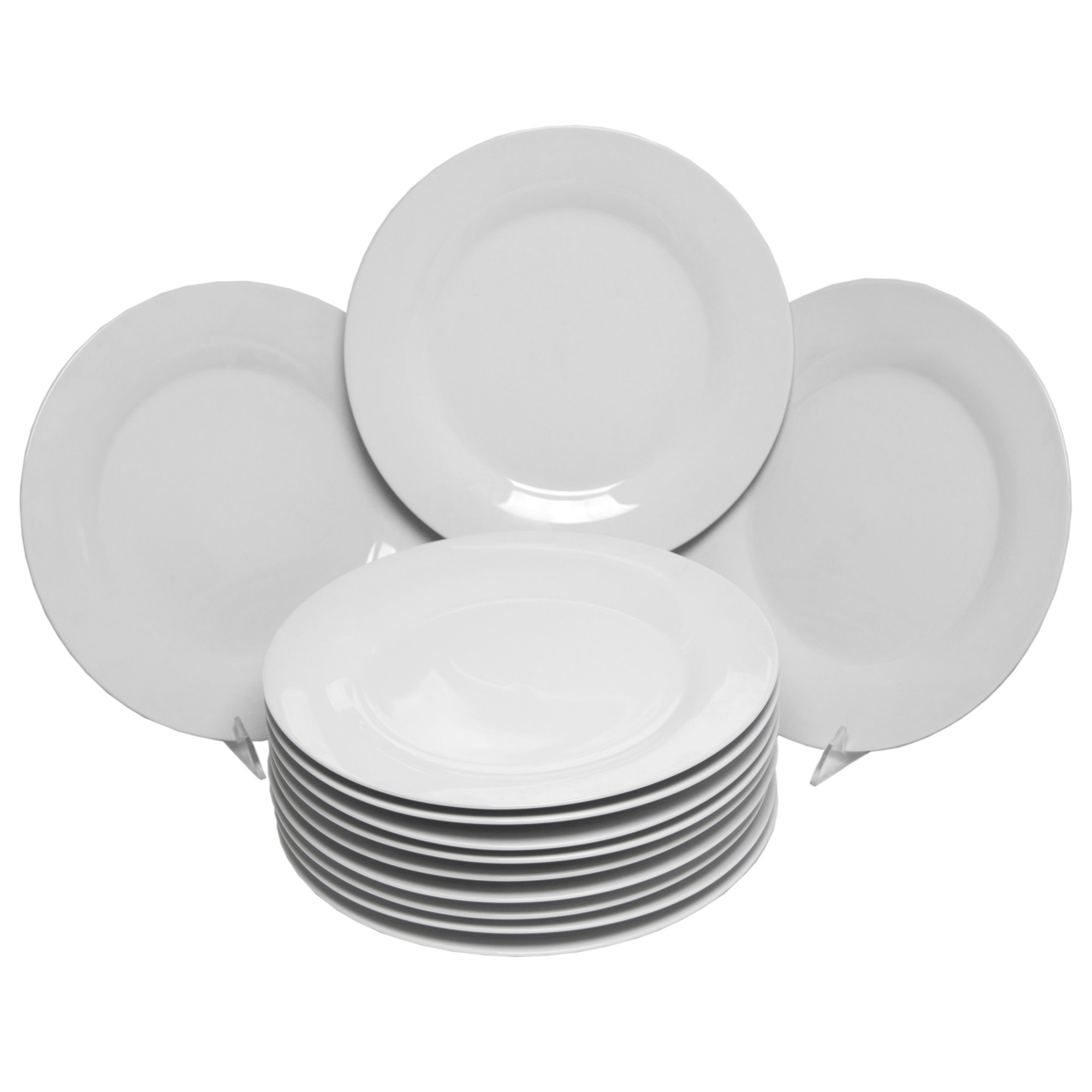 10 Strawberry Street Catering Set 10-1/2-Inch Dinner Plate, Set of 12 by 10 Strawberry Street (Image #1)