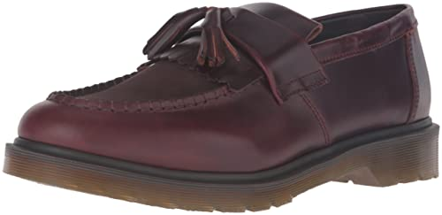 Mocasines Slip-on Adrian de Dr.Martens para mujeres, Charro + Marrš®n oscuro, 12 UK / 13 M US: Amazon.es: Zapatos y complementos