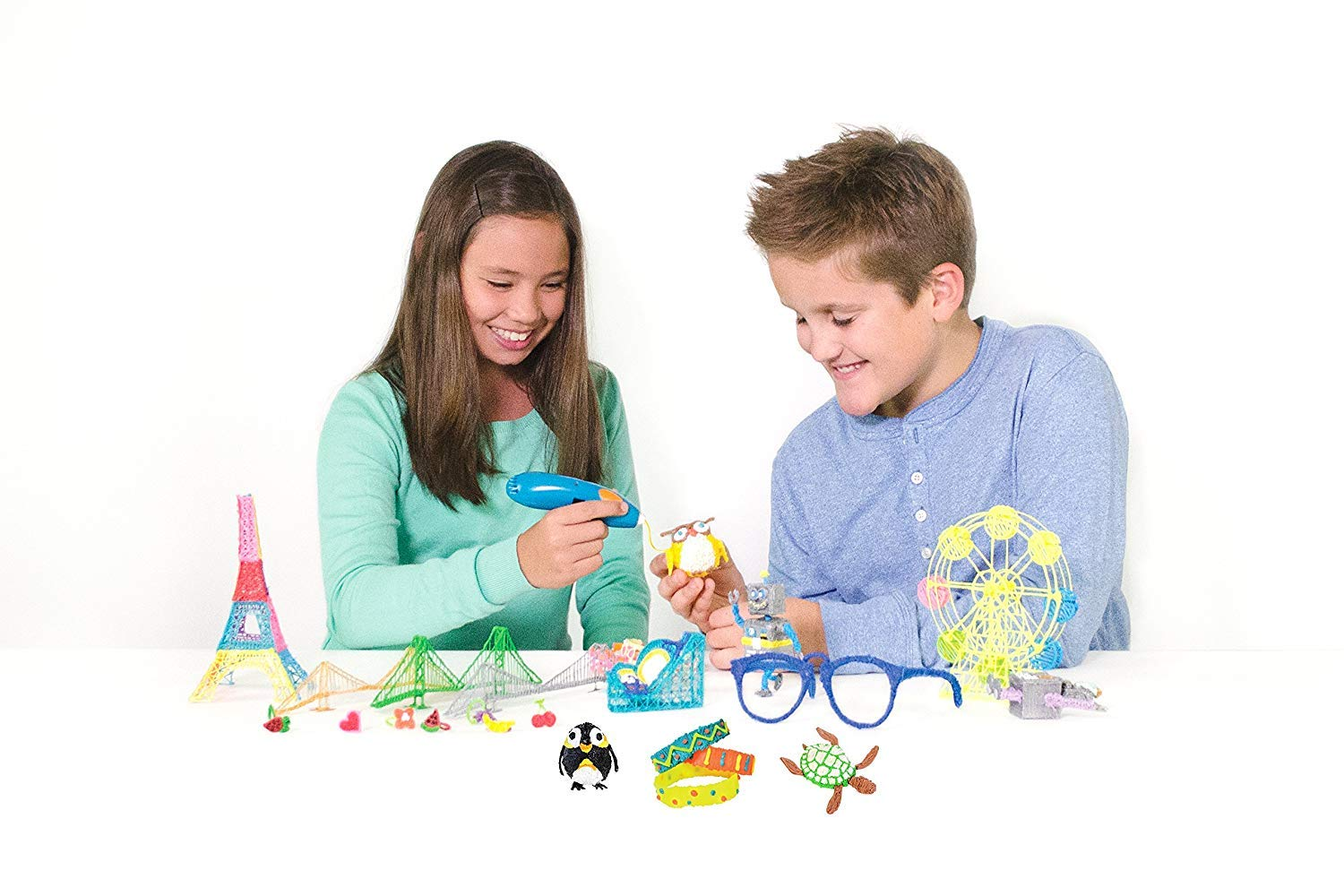 3Doodler Start Essentials 3D Pen Set For Kids with Free Refill Filament - STEM Toy For Boys & Girls, Age 6 & Up - Toy of The Year Award Winner by 3Doodler (Image #8)