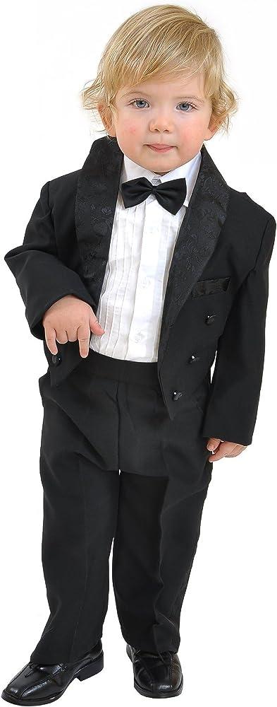 5 Piezas niños Traje Traje de comunión taufanzug Baby Traje Traje ...