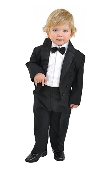 Kinderfrack schwarz Anzug Jacke für Jungen