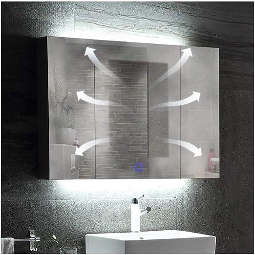 Amazon De Badezimmerschrank Spiegel Badezimmer Spiegelschrank