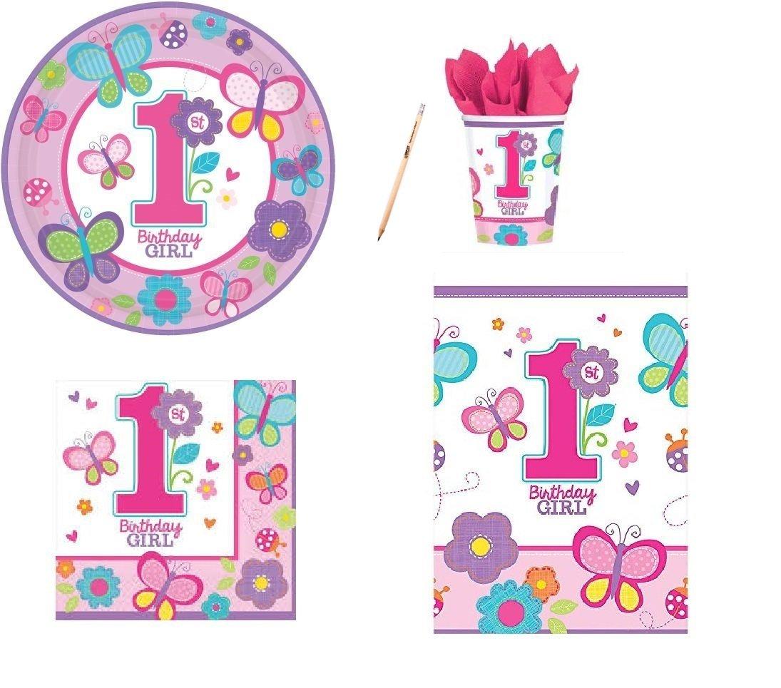 IRPot KIT TAVOLA COMPLEANNO N.16 BIRTHDAY GIRL ROSA