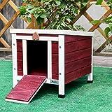 """Petsfit 16""""Wx20""""Dx17""""H pet cage, rabbit hutch,outdoor cat shelter"""