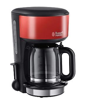 Russell Hobbs 20131-56 Colours - Cafetera de filtro, jarra de cristal, capacidad para 1,25 l, función de pausa para servir
