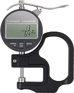 Neoteck Medidor de Espesor Digital 0-12.7 mm Digital